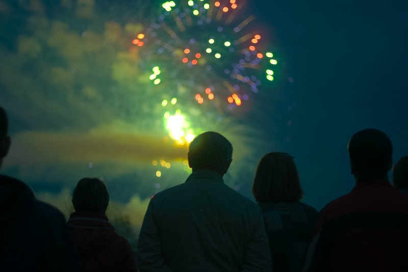Weekly Downtown Fireworks | Old Orchard Beach Maine