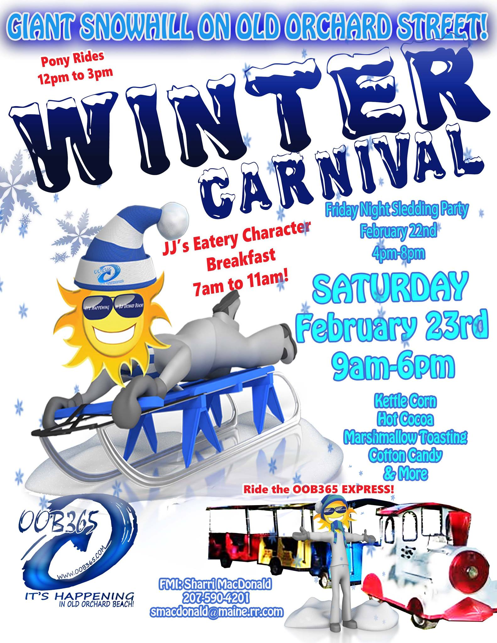 OOB 365 Winter Carnival 2019 | Old Orchard Beach Maine